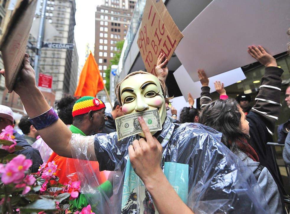 Protesters in Wall Street: Financiers have cut jobs, but not because of their unpopularity among ordinary Americans