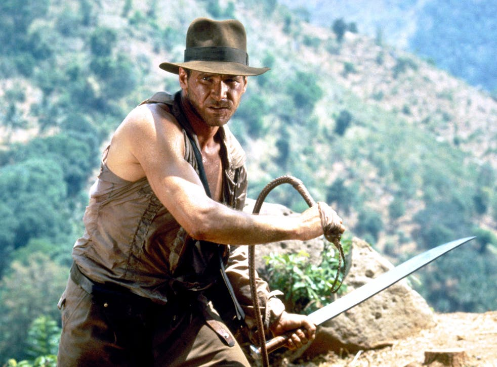 Harrison Ford in the PG-rated 'Indiana Jones and The Temple of Doom'