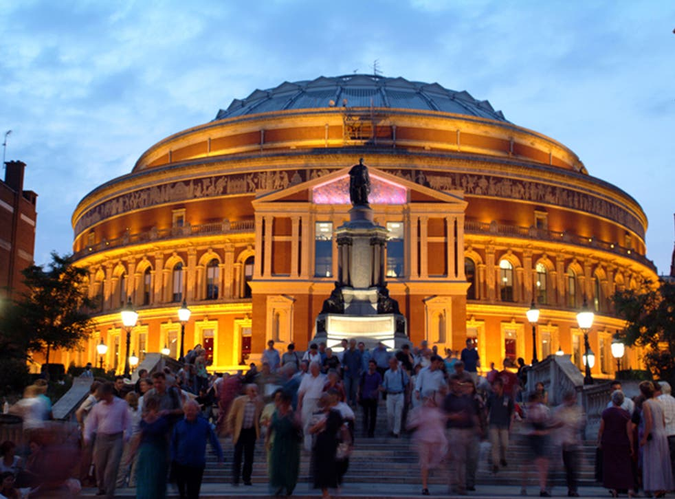 It was the week of the Schools Proms at the Royal Albert Hall, which can play a similar role to Britain's Got Talent in unearthing future stars of the music world