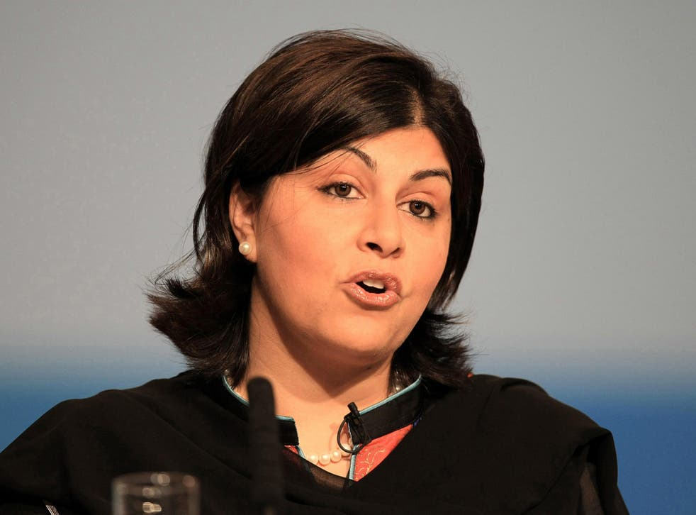 Baroness Warsi says Tim Farron's comments on power-sharing are in 'bad taste'
