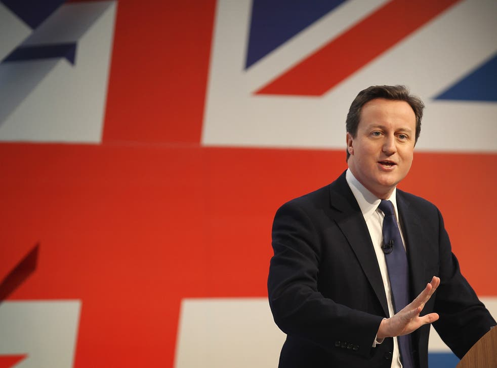 'At it's beating heart this is still the party of start-ups. What drives us mad is bureaucracy' David Cameron, Tory conference in March 2011