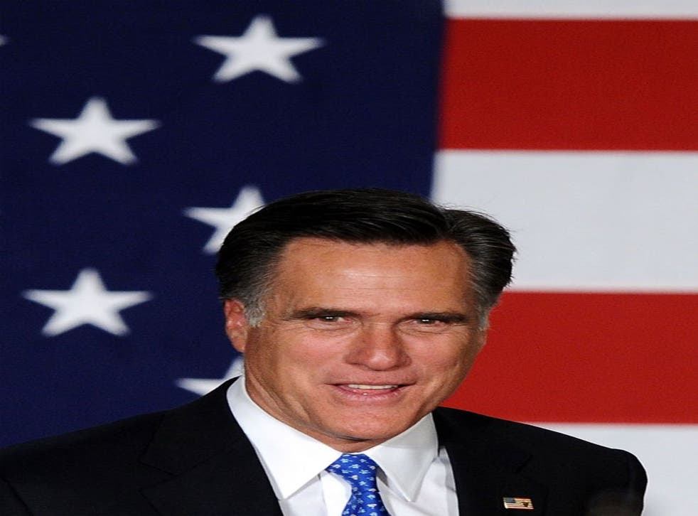 Republican leadership candidate Mitt Romney says the greatest threat to the world is a nuclear Iran