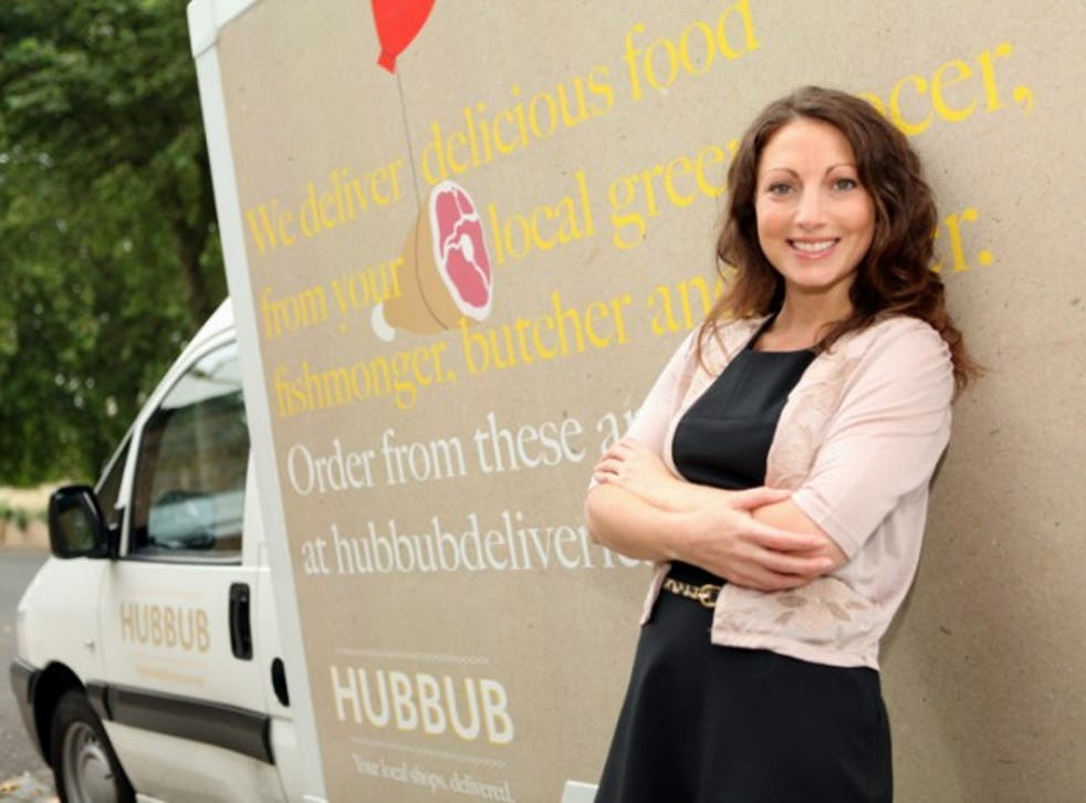 Dream scheme: Marisa Leaf came up with the idea of setting up a company so time-poor shoppers can buy produce locally online