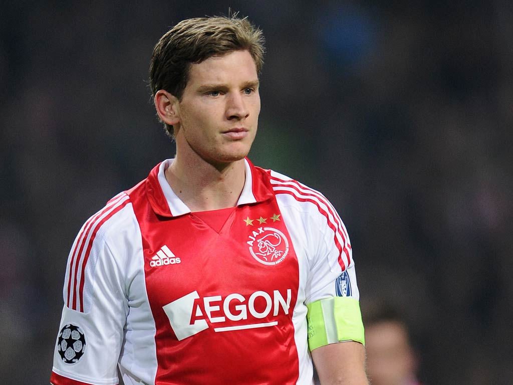Jan Vertonghen pletes move to Tottenham from Ajax