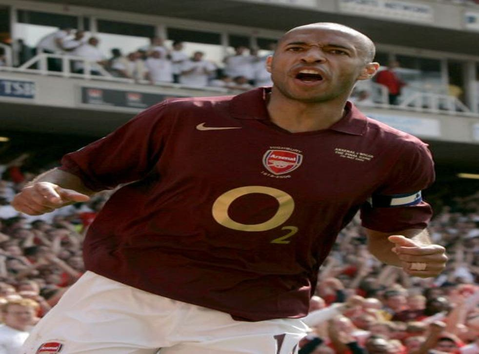 Thierry Henry has warned Arsenal fans not to expect too many goal celebrations