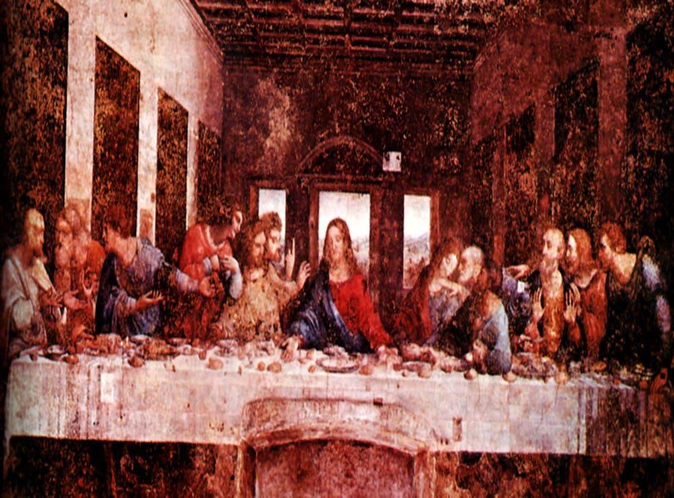 The Last Supper by Leonardo da Vinci shows 13 around the table