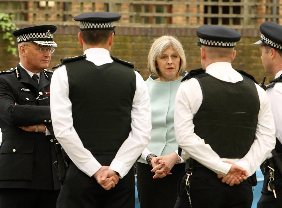 Theresa May is under pressure to abide by the Police Arbitration Tribunal findings