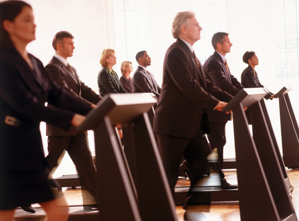 Health clubs are starting to respond to a growing demand for business facilities on their premises