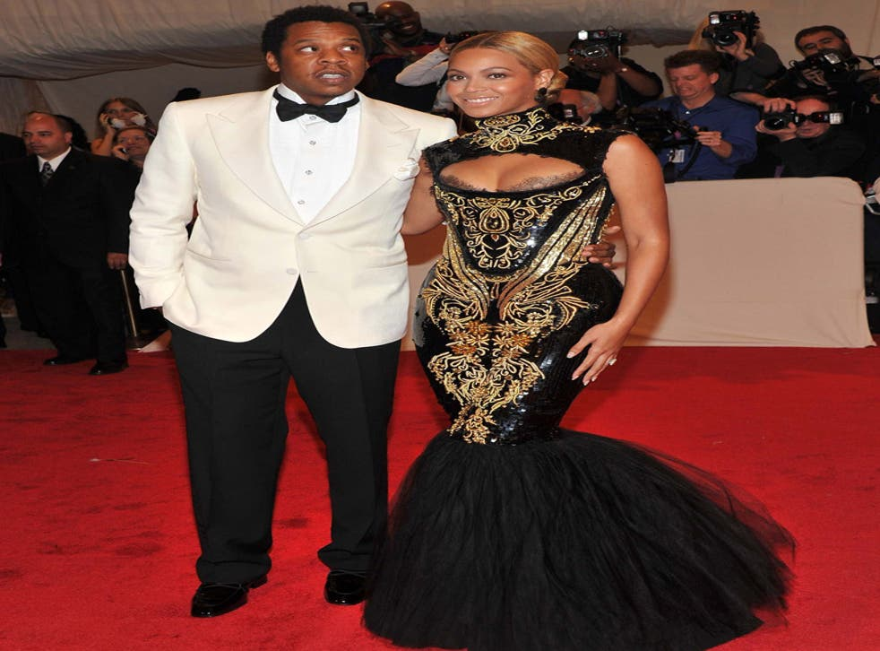 New parents: Beyoncé Knowles and husband rapper Jay-Z (Shawn Carter)
