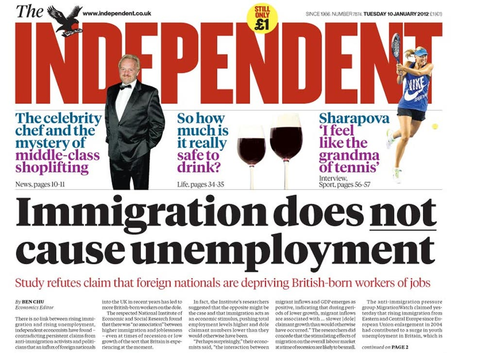 The Independent reported earlier this week on immigration claims