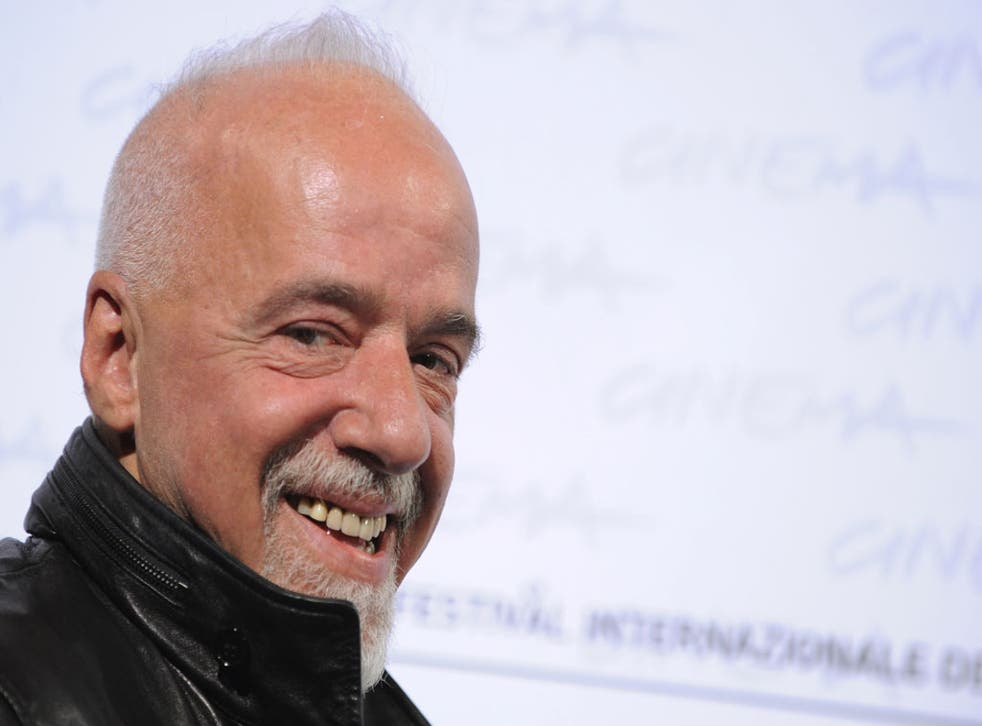 Coelho says: 'I cry very easily - tears are words waiting to be written'