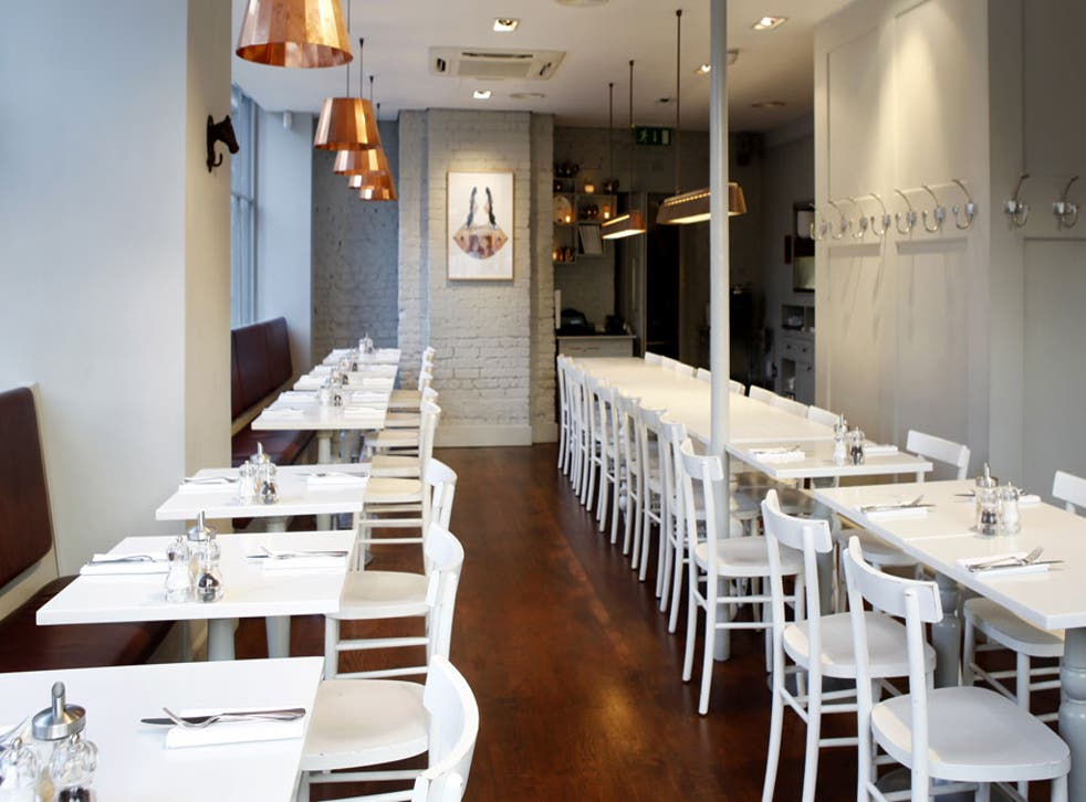 The Modern Pantry is renowned for its crisp, fresh produce and zingy flavours