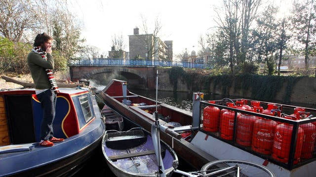 Canal boat resident 'Ben'
