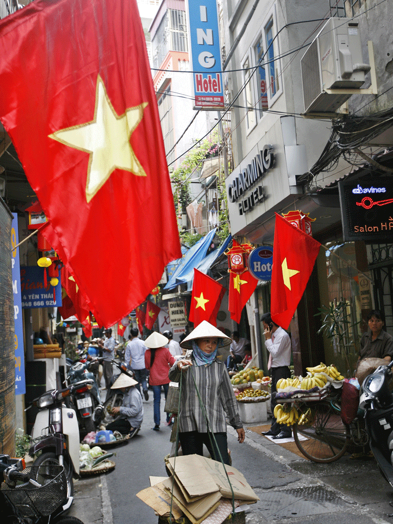 A breathless week in non-stop Vietnam | The Independent