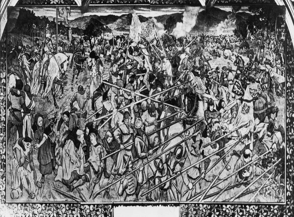 Scotland won a decisive victory against England in 1314 in the Battle of Bannockburn