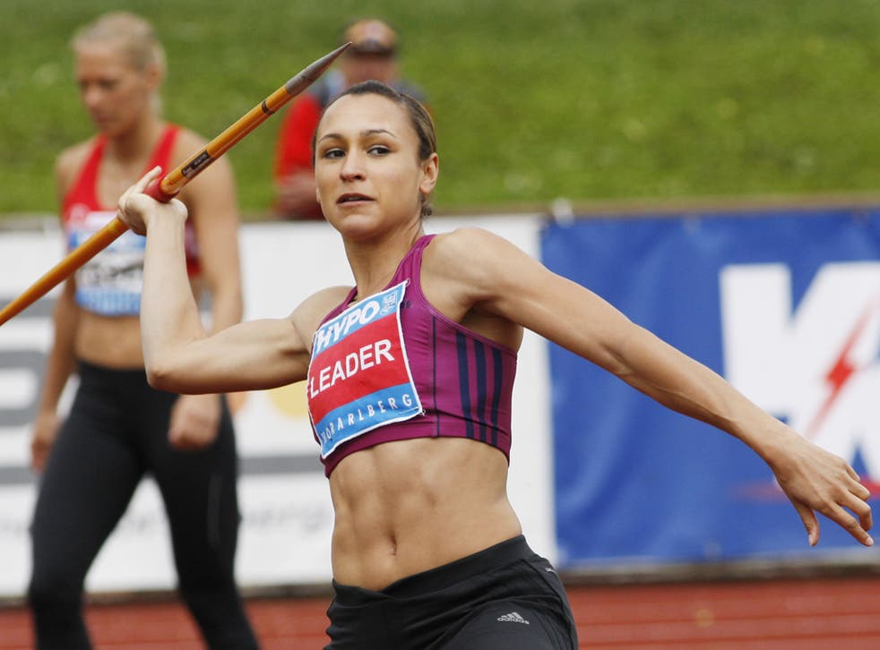 Athlete Jessica Ennis who has won her first title of 2012