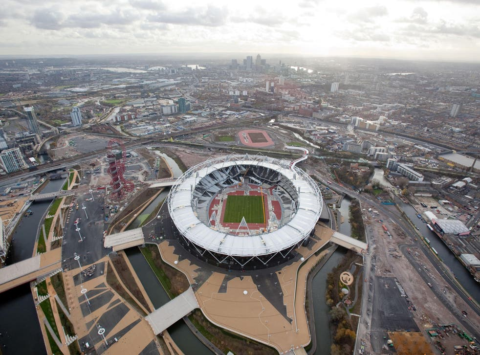 Atmospheric conditions at London 2012 could affect runners