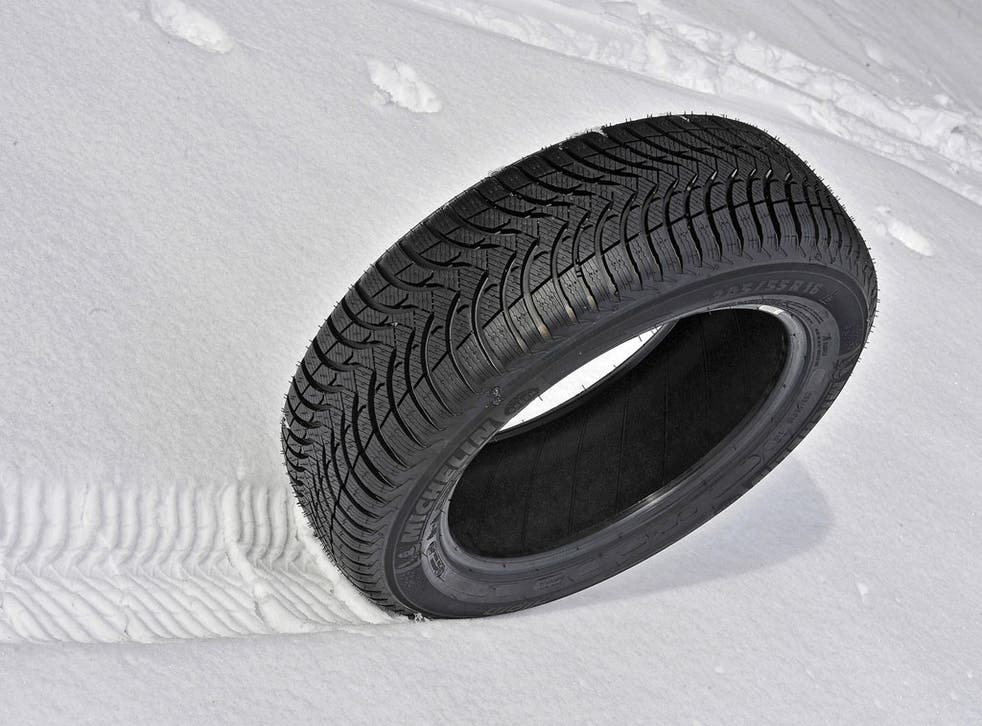 Michelin is reporting a substantial increase in sales of cold weather tyres