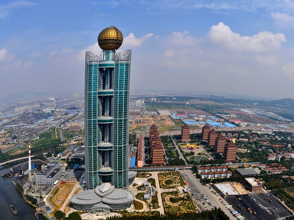 Image result for China has the world's richest village where annual earning of people ...