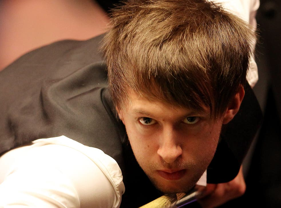 Snooker player Judd Trump who will be playing in the Masters quarter-final match against Ronnie O'Sullivan on Thursday