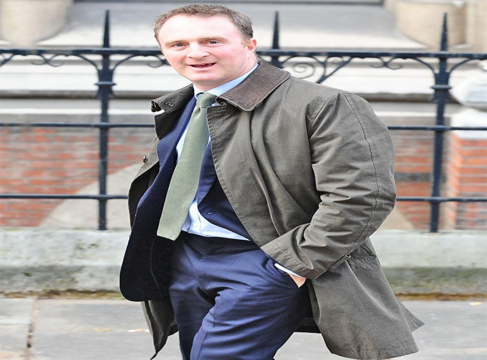 James Harding, editor of 'The Times', leaves the Leveson inquiry yesterday