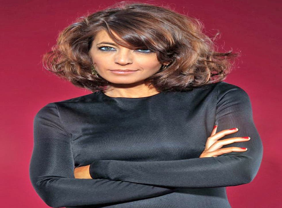Words fail her: 'Hot Gossip' host Claudia Winkleman is scraping the barrel