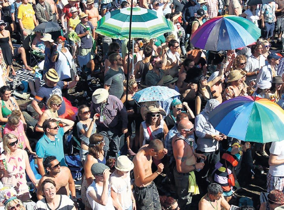 Feeling mud: Have festivals like Glastonbury lost their allure?