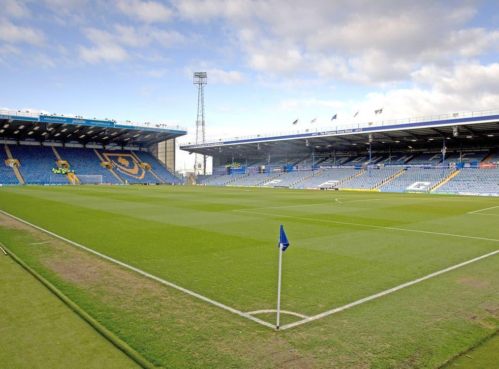 Portsmouth's home ground, Fratton Park