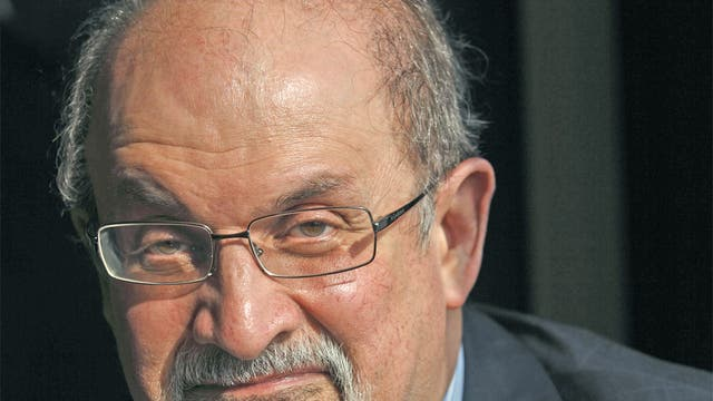 Rushdie described what had happened as a 'black farce' and blamed politicians