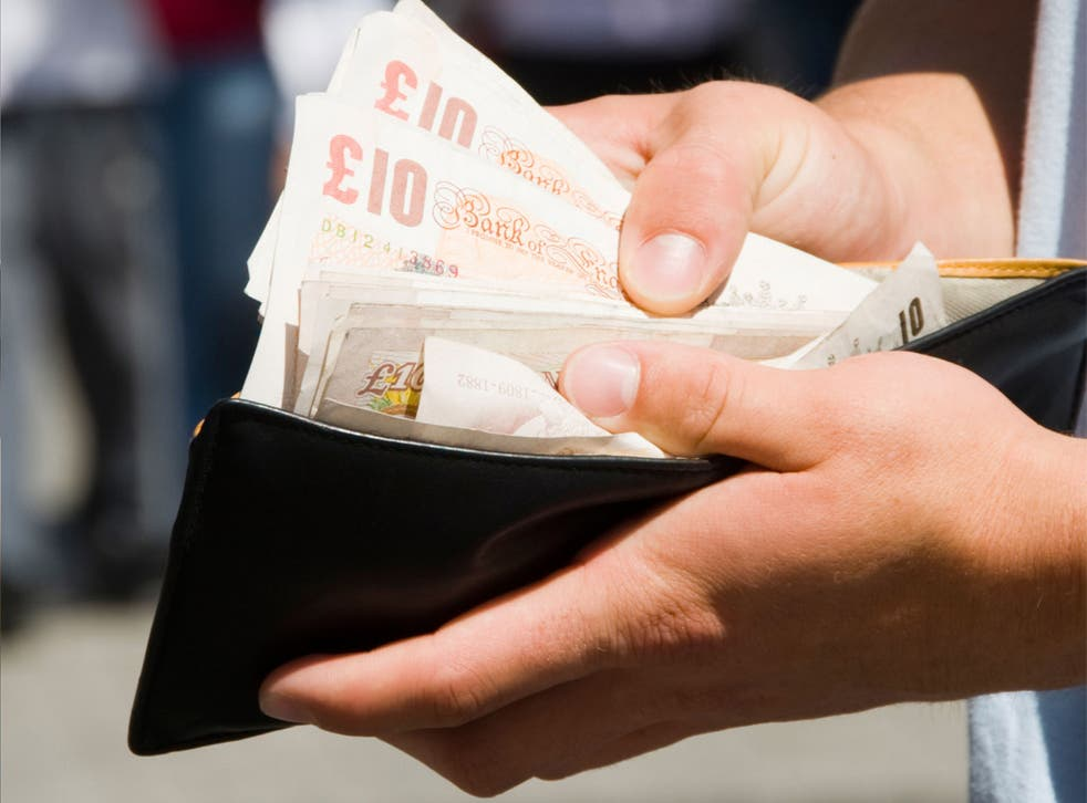 The proportion of people who say picking up money found in the street is never justified fell from 40 per cent to 20 per cent