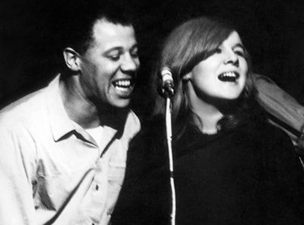 Mixed doubles: Silvo and Sandy Denny, both Wimbledon-born, in 1967
