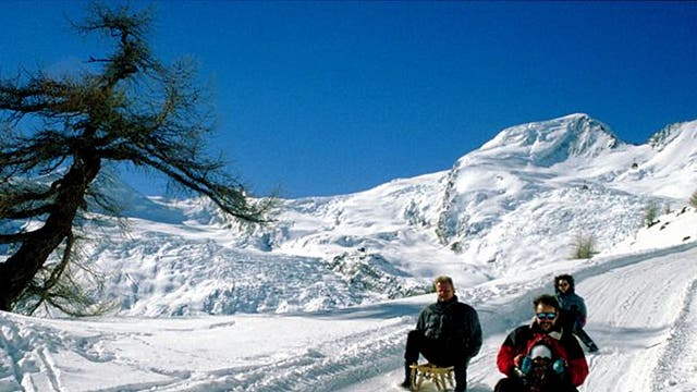 Fast lane: The Hannig sledge run