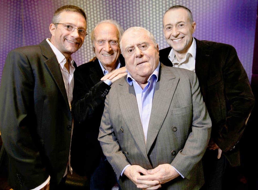 From left, Alain, Michel, Albert and Michel Jnr