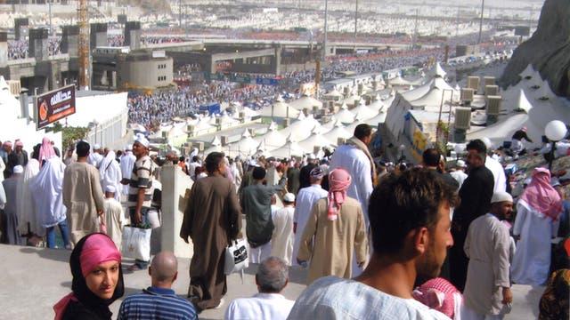 Arifa Akbar at Mecca hajj