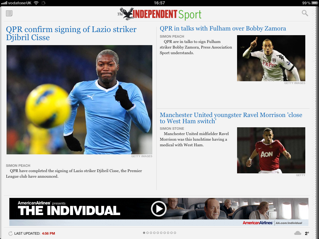 Free trial for The Independent's new iPad app | The Independent