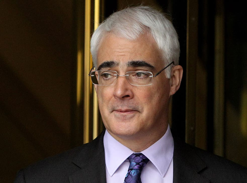 """Alistair Darling: """"I don't think anyone can realistically say that the eurozone will survive with its present membership"""""""