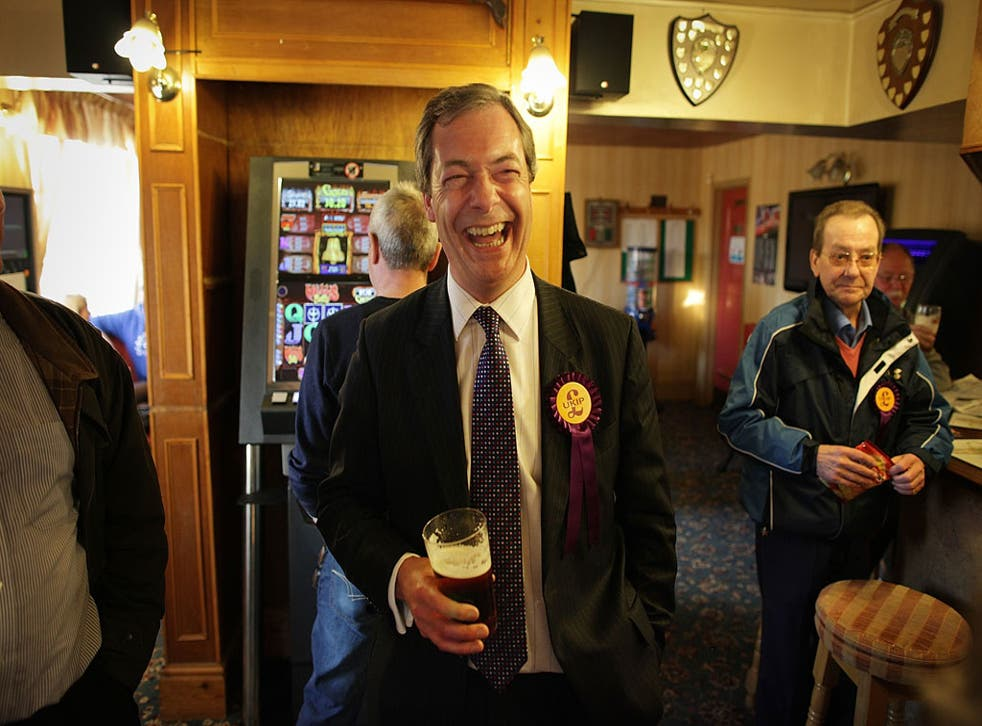 Best of British: Farage says that he loved his City days but 'is one of the lucky ones. I really enjoy a drink but I don't need it'