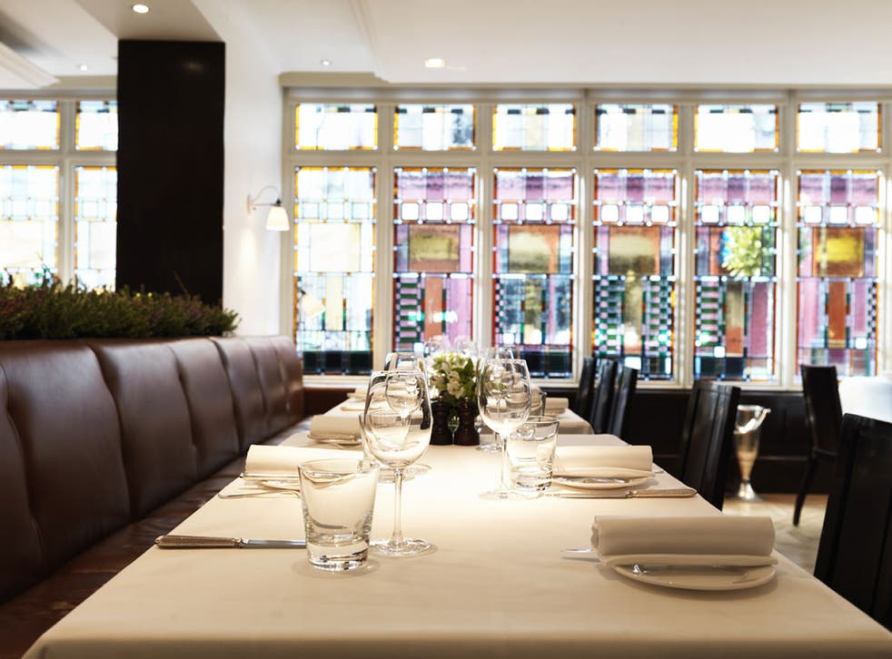 With its stained-glass windows and airy feel, Quo Vadis has simply been pared down further from its already quiet elegance