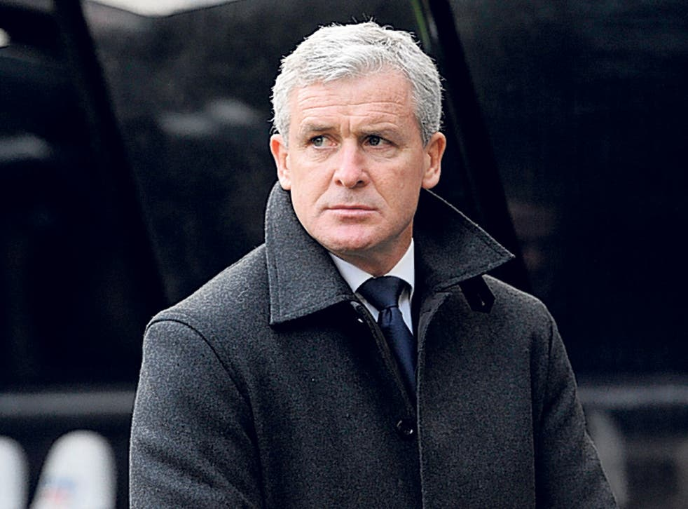 QPR's manager, Mark Hughes, has said his club were not consulted