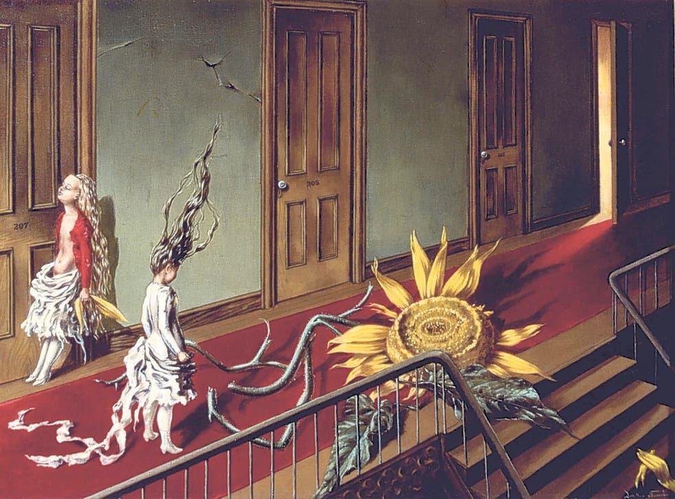 Tanning's 1943 painting 'Eine Kleine Nachtmusik'