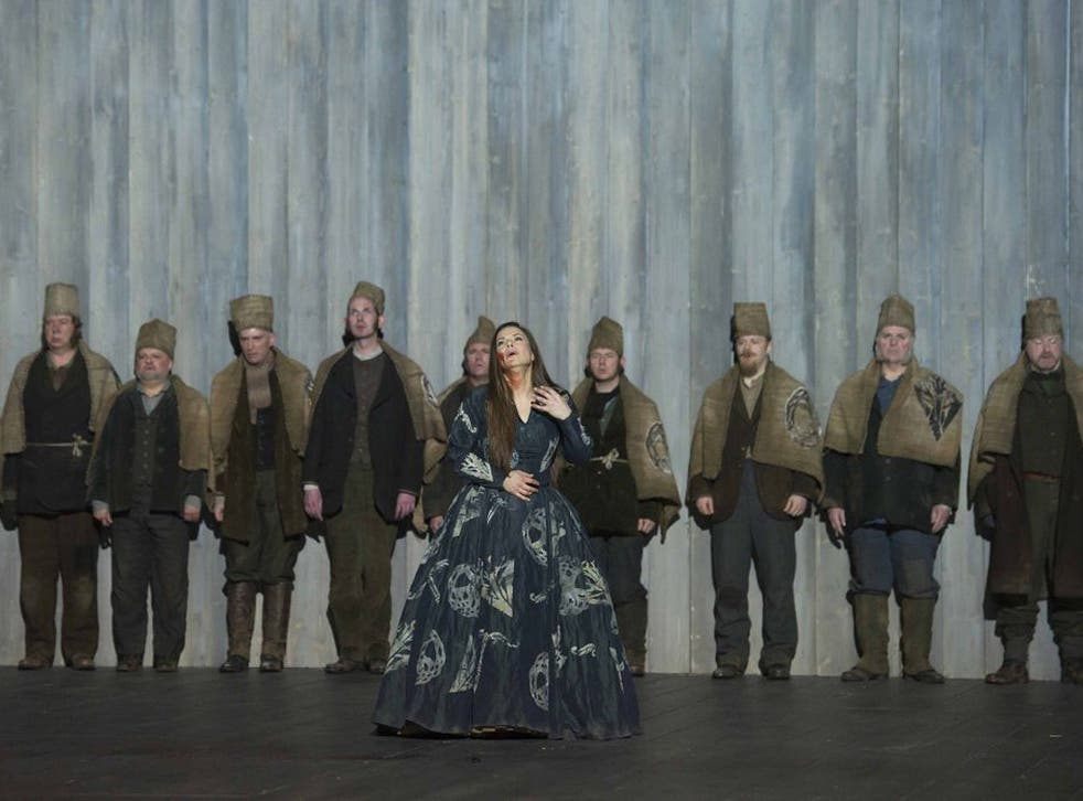 Compulsively watchable: Annemarie Kremer, as Norma, seems not so much to act or sing the role as to live it