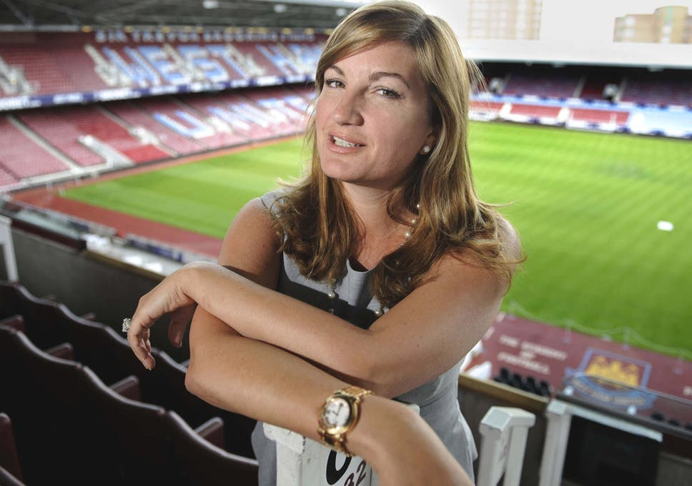 9afd3db763 Karen Brady vice-chairman of West Ham United says they will not give up on