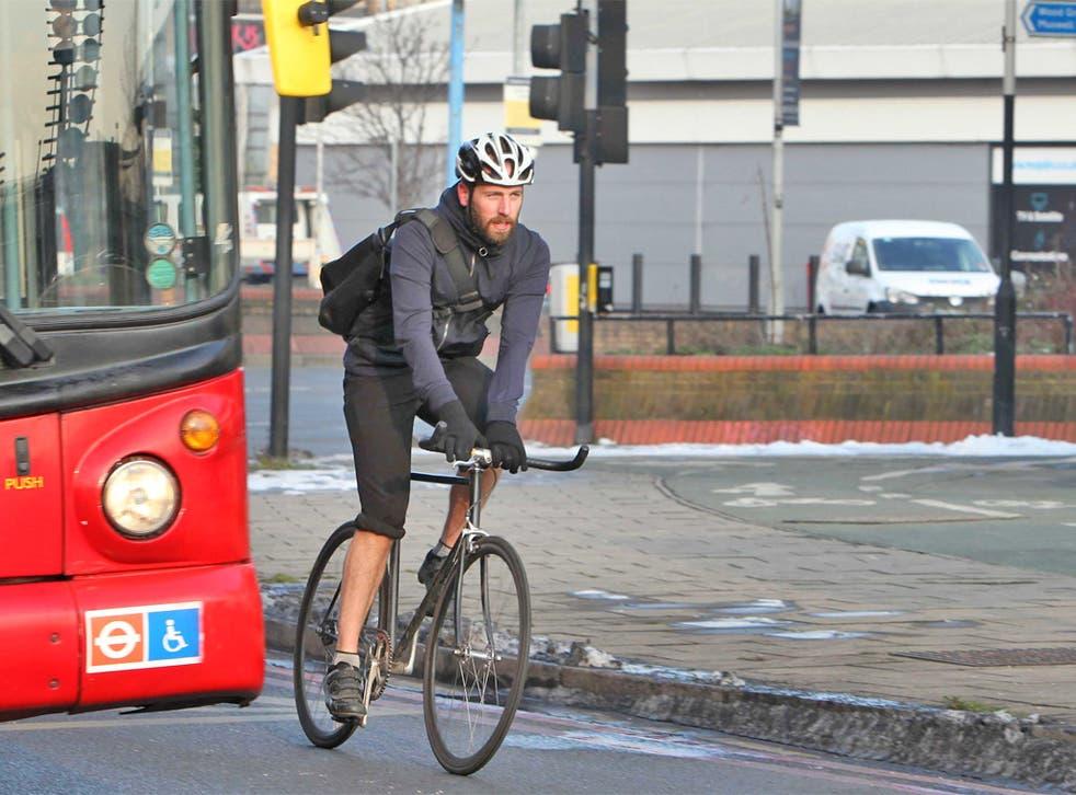 Simon Usborne cycles the 'Tour de Chance'