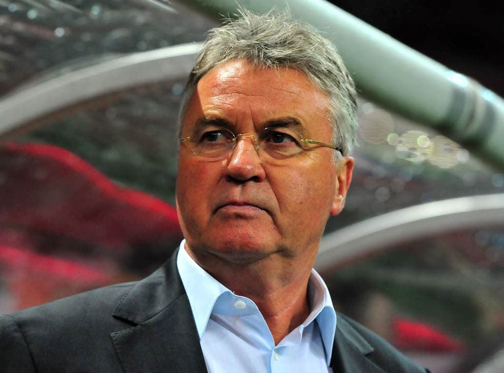 <b>Guus Hiddink</b><br/>  Dutchman was quick to express his interest last night and his stock is high following a spell with Chelsea which ended with an FA Cup success. Has experience, having taken Netherlands, South Korea, Australia, Russia and Turkey to