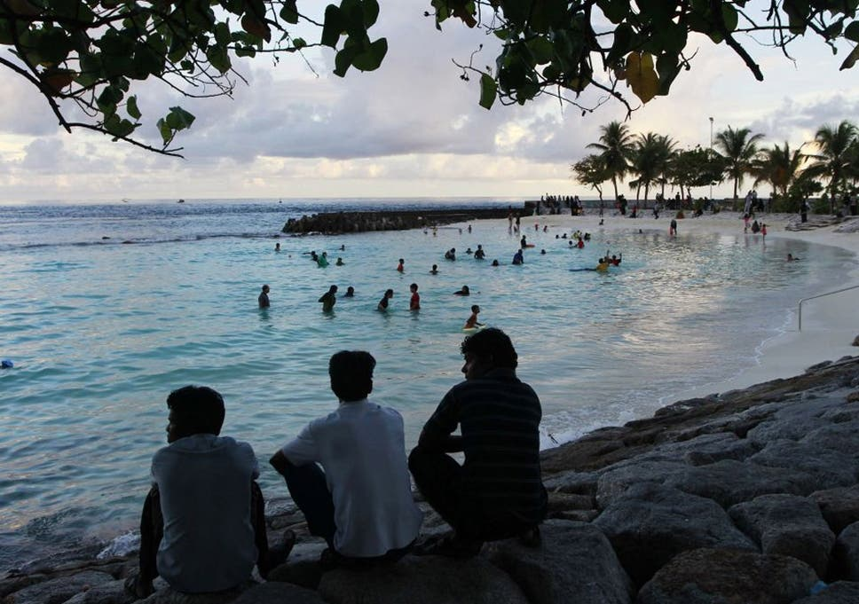 ef7b256314b29 Britons know the Maldives mostly for its beautiful beaches and resorts, but  corruption and human