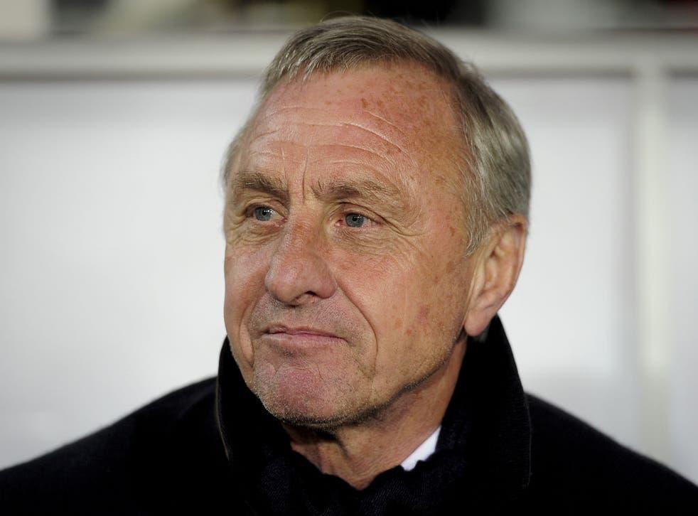 Ajax and Dutch legend Johan Cruyff