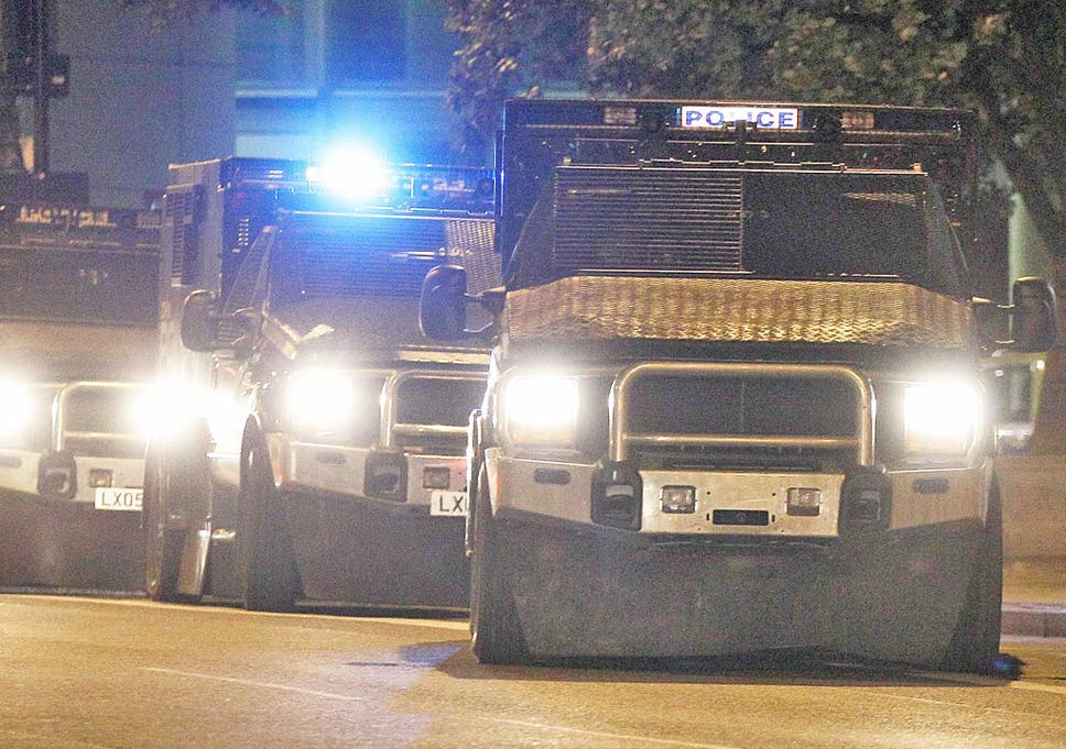 Military armoured cars attract interest from Met | The Independent