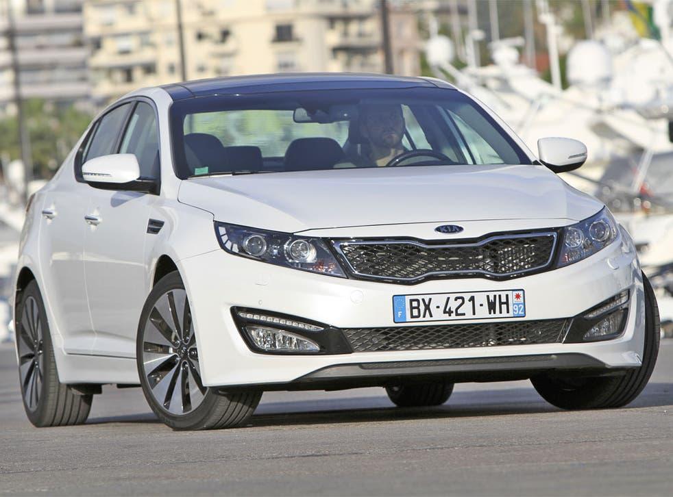 Glamorous and well-equipped, the Kia Optima