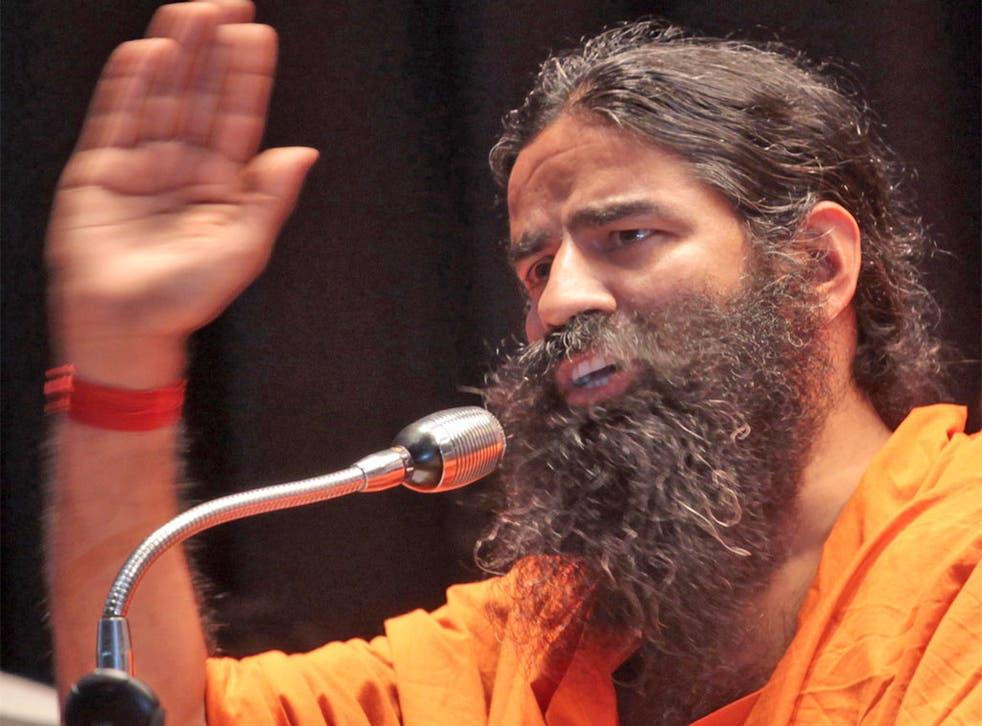 Breathing lessons: Indian guru Baba Ramdev