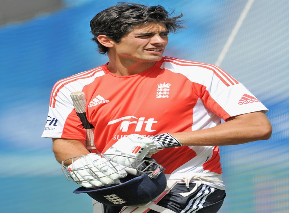 One-day captain Alastair Cook has stayed on tour for the Twenty20s